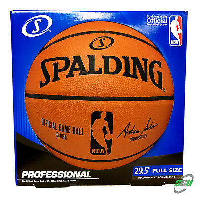 Spalding NBA Official Authentic Full Size Game Ball Basketball (Original Box)