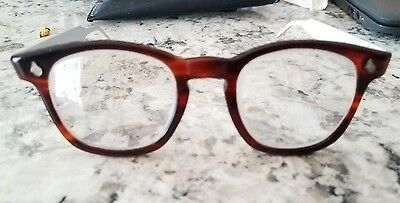 vintage AMERICAN OPTICAL TORTOISE & ALUMINUM FRAMES HIPSTER FREE SHIPPING IN USA