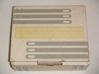 Knitting Machine Accessory: Shadow Lace Tool For Any Standard Gauge Machine (1)
