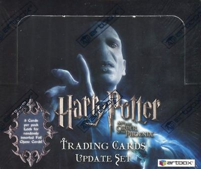 Harry Potter and the Order of the Phoenix Update Retail Card Box