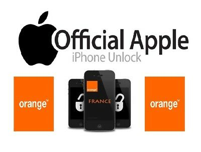 UNLOCK ORANGE FRANCE IPHONE 4G/4s/5G/5c/5s/6/6+/6S/6S+/SE/7/7+ (CLEAN IMEI)