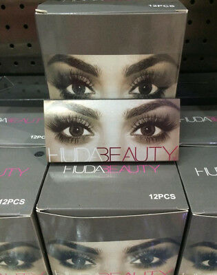Huda Beauty False Eyelashes #1 TO #12 *FREE UK DELIVERY*