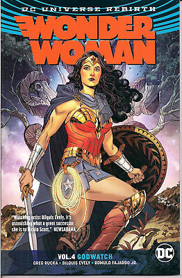 DC Universe Rebirth - Wonder Woman Vol 4 - Godwatch - Softcover / NEW