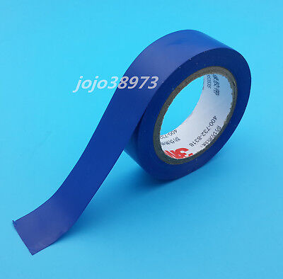 1Pcs 3M 1500 Vinyl Electrical Tape Insulation Adhesive Tape Blue High Quality