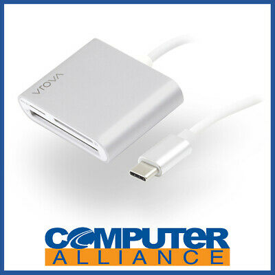 Alogic VROVA USB-C Multi Card Reader - Micro SD SD & Compact Flash - VROVA Plus