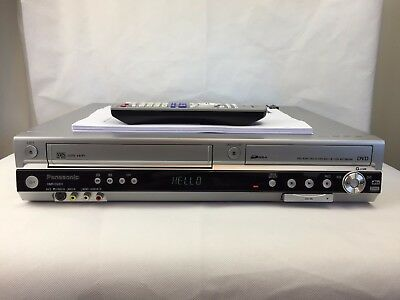 Panasonic - DMR-ES35V - DVD / VCR Recorder - Player - With Remote - Copy VHS -