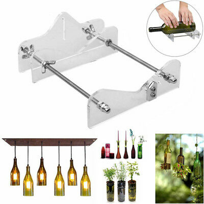 Cutting Tool Glass Wine Beer Bottle Cutter Machine Home Table Kitchen Decor QL96