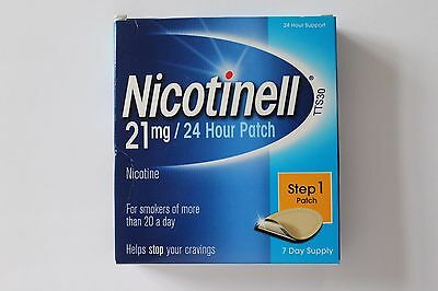 Nicotinell 24 horas PASO 1 Parches 21mg - 7 Días Tratamiento