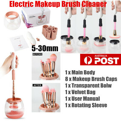 Makeup Brush Electric Tool KitCosmetic Wash Dryer Brush Cleaning Cleaner Set TOP