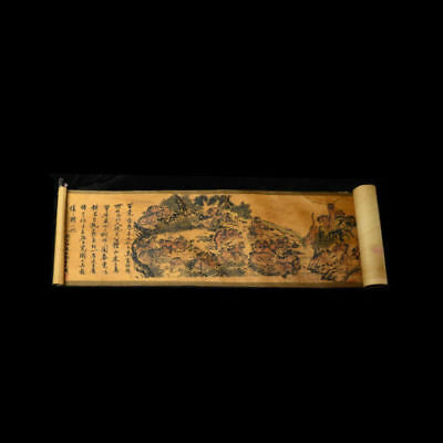Collection of Chinese scroll painting on silk:White tiger figure