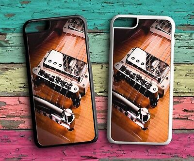 Guitar String Cool 02 Protective Rubber Phone Case  Iphone 4S 5S SE 6S 7 8 X 10