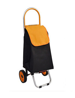 D137 Rugged Aluminium Luggage Trolley Hand Truck Folding Foldable Shopping Cart