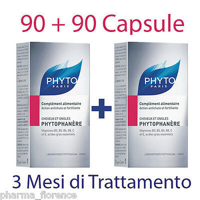 Phyto PHYTOPHANERE Bi Pack Capelli Unghie 90+90 cps Care Treatment Hair & Nails
