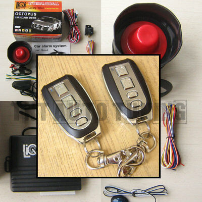 CAR ALARM SECURITY System + Remote Central Locking Kit for TOYOTA Key Fob  Fobs