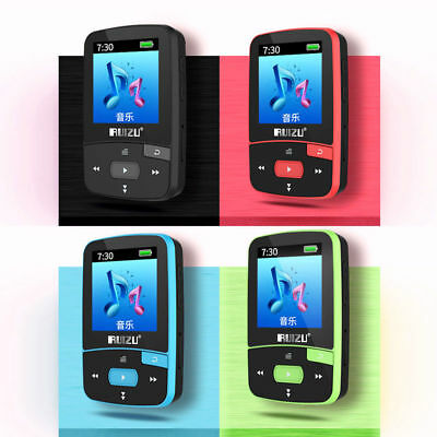 RUIZU X50 8GB MP3 MP4 Music Player HiFi Lossless TF FM Radio Recorder Sport EH