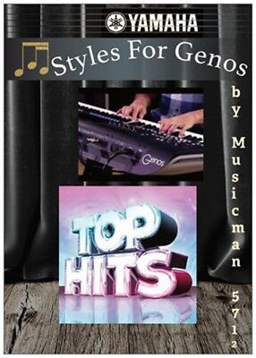 YAMAHA Genos Styles - Top Hit's- Download/Usb Stick Neu ! New ! Nouveau !