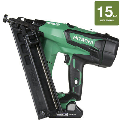 Hitachi 15-Amp 18-Volt Finishing Cordless Nailer with Battery NT1865DMA