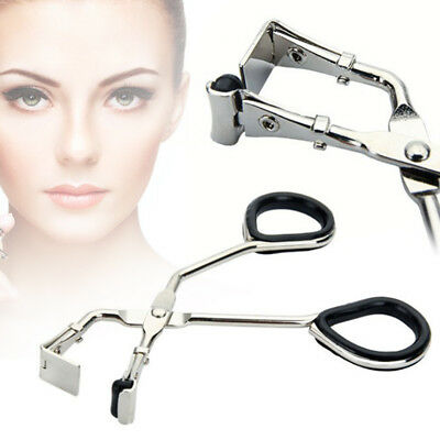 Iron Eyelash Curler Clip silicone strip Eye Curling Cosmetic Makeup Beauty Tool