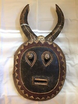 Baule, Goli Mask, Ivory Coast, West African - Unique
