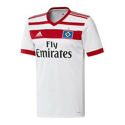 adidas Hamburger SV Trikot Home 2017/2018 Weiss