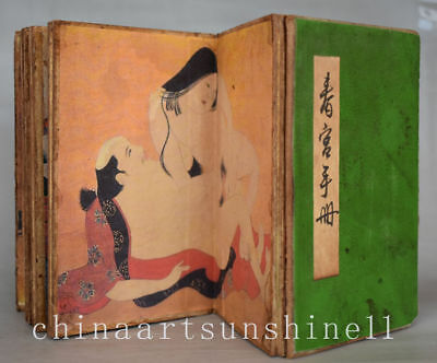 Chinese Old Paper diagram Book Belle picture art deco Painting