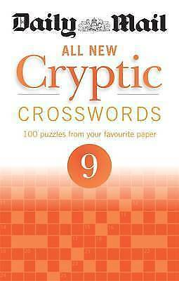 Daily Mail All New Cryptic Crosswords 9 (The Daily Mail Puzzle Books) - New Book