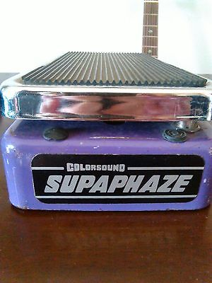 "Colorsound phase shifter ""supaphaze""  Made in London- rare vintage guitar effect"