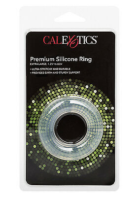 Premium Stretchy ICE Clear SILICONE C-Ring/C&B Ring/Ball Ring 3 Sizes