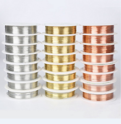 Wholesale Lot Soft Copper Wire/Wire line for DIY Jewelry Making 0.2-0.8mm copper