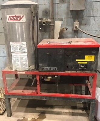 Used Hotsy 992SS 3PH / Natural Gas 4GPM @ 2000PSI Hot Water Pressure Washer