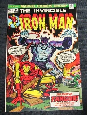 Iron Man #56 (1972) Starlin Art High Grade VF/NM 9.0 CA815