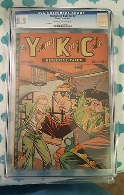 Young King Cole Vol. 3 #2 (1947) Golden Age L.B. Cole Comic CGC 5.5