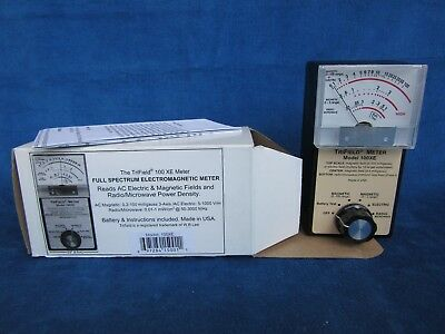 Trifield 100XE EMF Meter **** MINT COND*** NEW IN BOX***