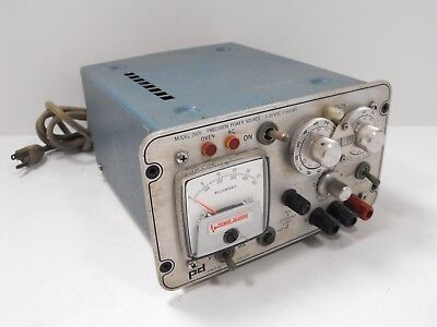 PD Power Designs Model 2005 Precision Power Source Supply 0 - 20 VDC 0 - 500 mA