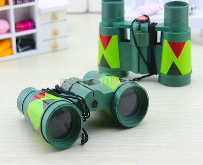 Children's Novelty Toys Educational Cheap Camouflage Binoculars Cute Vc