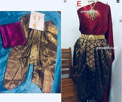 💕👘 Traditional Thai/cambodian Outfit 💕👘 Us Seller
