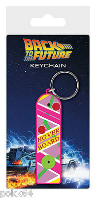 Back to the Future Key Ring Rubber Hoverboard 7 cm Keychain 38571