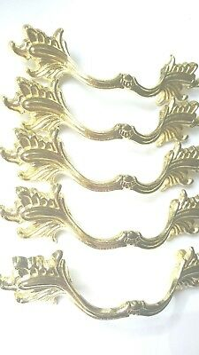 New antique french style gold tone drawer pull  cabinet furniture handles