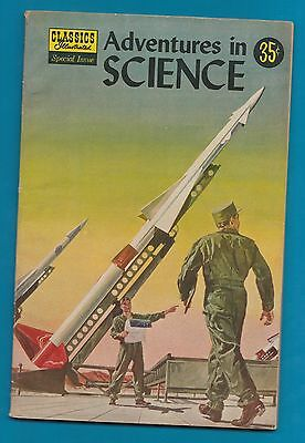 Classics Illustrated Comic 1957 Adventures in Science 94 pages    #878