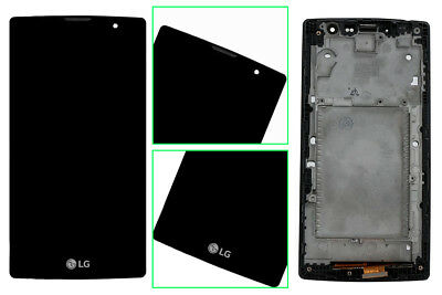 USA LG Touch Screen Digitizer Glass+LCD Display+Frame Magna H500 H520 G4 Compact