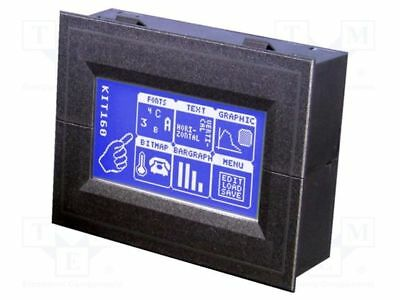 1 pcs Display: LCD; graphical; STN Negative; 160x80; blue; LED