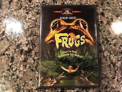 Frogs Dvd. Awesome 1972 Animal Horror.