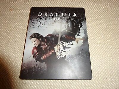 Dracula Untold Wal-Mart Exclusive Steelbook Blu-Ray Dvd Opened Great Condt No Uv