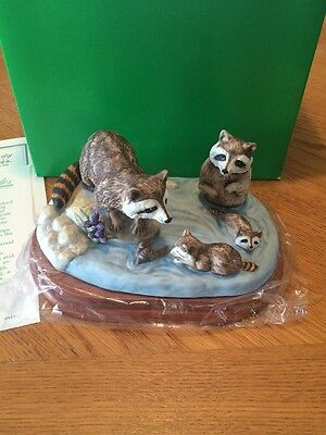 Royal Windsor Raccoon  1984 Southern Forest Families Collection Wildlife