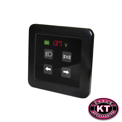 Commander Smart-Touch Switch 4 Way Panel