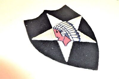 German Made 2nd Infantry Division Hand Embroidered patch
