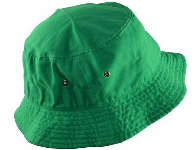 100% COTTON BUCKET Hat-forest green-LXL -  6.99  27fabf21792b