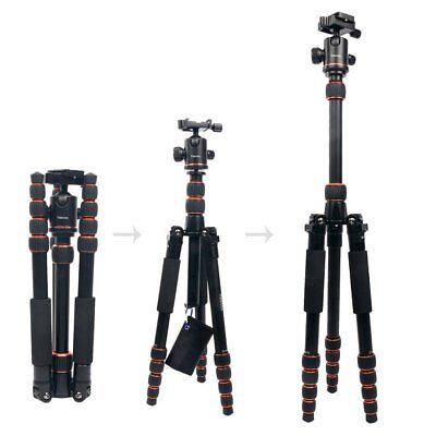 Aluminum SLR Camera Tripod Monopod & Ball Head for Camera Canon Nikon Petax Sony