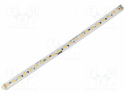 1 pcs Module: LED strip; 24V; Colour: white warm; 3000(typ)K; 390mA