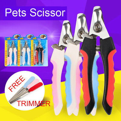 Pet Nail Clippers Claw Toe Paw Trimmer Scissor Grooming Tool for Dogs & Cat(smal